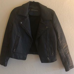 MEMBERS ONLY X URBAN OUTFITTER LEATHER JACKET